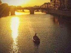 Ponte Vecchio, Florencia, Italia, mi mejor postal ♥