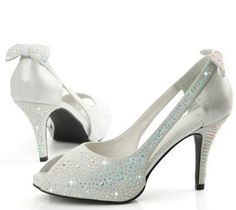 Kari C Bespoke Bridal Shoes Embellished With Austrian Crystals