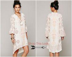 Boho Style Bridesmaid Dress
