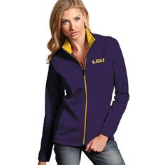 Women's Antigua Royal Kansas City Royals 2015 World Series Champions Leader  Full-Zip Jacket