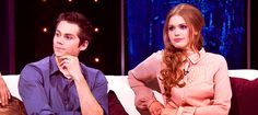 dylan and holland - teen wolf gif