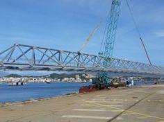Une passerelle en aluminium de 65 mètres installée en Corse un record