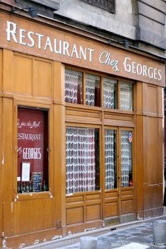 FEAST to the world: Paris ( Part 2) : Chez Georges