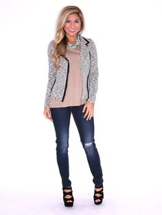 KEEPING IT CHIC JACKET $ 80.00