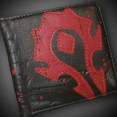 World of Warcraft Horde Crest Leather Wallet $24.99