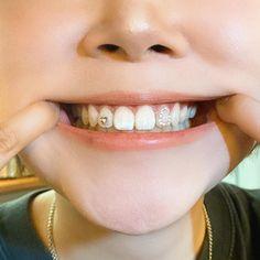 Tooth Gem, Grillz, Coraline, Seoul, Teeth, Piercings, Gems, Accessories, Jewels