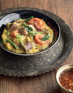 Everyday lentil and vegetable curry recipe from I Love Curry by Anjum Anand | Cooked