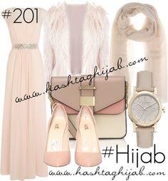 Hashtag Hijab Outfit #201 van hashtaghijab met pins & broochesCoast cocktail dress€170-johnlewis.comFaux fur jacket€28-fashionunion.comAccessorize pink purse€36-accessorize.comBurberry bracelet€890-harrods.comLoro Piana cashmere scarve€845-mytheresa.comPins broochpinterest.com
