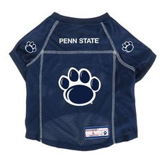 Penn State Nittany Lions Pet Jersey Size L #PennStateNittanyLions