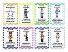 Yo tengo ... Quien tiene... ayudantes de la comunidad (I have.. Who has..? in Spanish, all about community helpers)