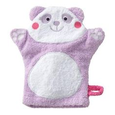 Jumping Beans Amanda The Panda Wash Mitt