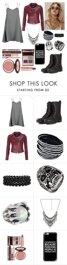 """Best Friend Boyfriend Fight"" by pineapple0121 ❤ liked on Polyvore featuring Boohoo, Barbour International, Bling Jewelry, West Coast Jewelry, Decree and Casetify"