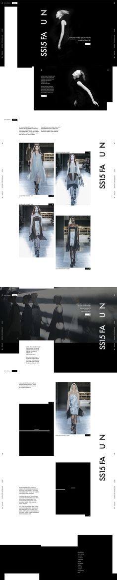 Web | Rick Owens Concept on Behance