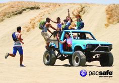 Adventure travel bags #venturesafe #pacsafetravel