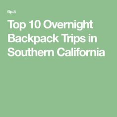 Sothern california overnight dating