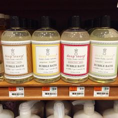 Bubble Bath Collection by Deep Steep