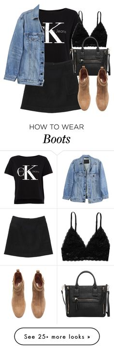 """""""Untitled #5639"""" by laurenmboot on Polyvore featuring Calvin Klein, Monki, MANGO, H&M and Y/Project"""