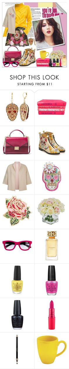 """Untitled #146"" by shewalksinsilence ❤ liked on Polyvore featuring Dolce&Gabbana, Betsey Johnson, ASOS, MICHAEL Michael Kors, Goby, MaxMara, Bando, Frontgate, Italia Independent and Tory Burch"