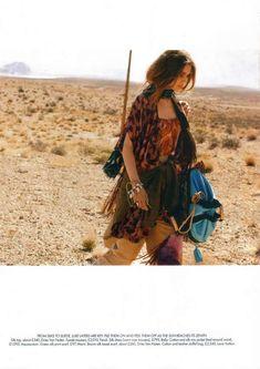 Kim Noorda in 'On the Road' for Harper's Bazaar June 20 trendhunter.com