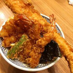 Tempura bowl 天丼