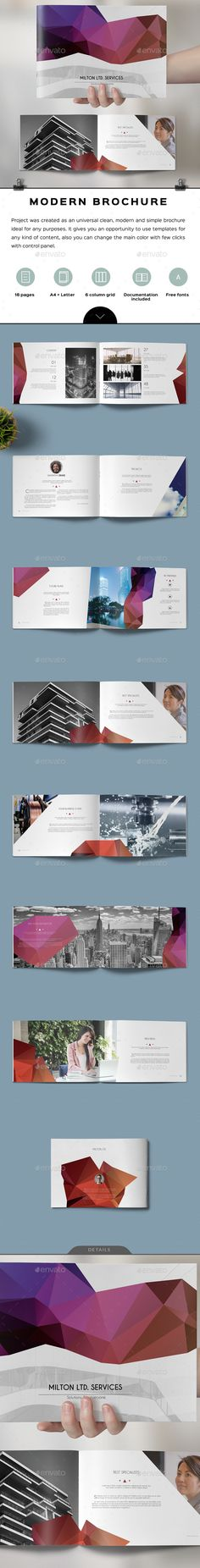 Corporate Brochure Brochures Corporate Brochure And Church