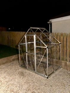 Excellent Greenhouse, easier than expected to assemble. 4 Hours, Garden Ideas, This Is Us, Delivery, It Is Finished, Base, In This Moment, Green, Silver