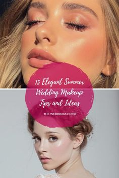 Elegant Summer Wedding Makeup Tips and Ideas #makeupideas Summer Wedding Makeup, Wedding Makeup Tips, Summer Makeup, Wedding Looks, Wedding Make Up, Dream Wedding, Wedding Ideas, Makeup Inspiration, Makeup Ideas