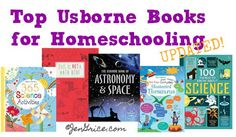 Check out this list of TOP Usborne Books & More books to use with your existing homeschool curricula or as homeschooling reference books.