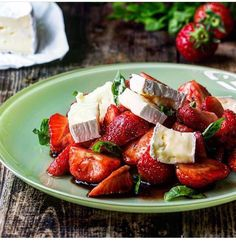 Strawberry and Brie. Yes!