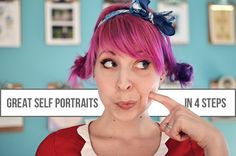 4 tips for taking gorgeous self-portrait and outfit photos