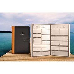 Organizer Planner Calendar Agenda Deluxe Leather Notebook Office Home School NEW #OrganizerPlannerCalendar