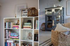 Jak zatrzymać lato w domu. ~ Od inspiracji do realizacji Bookcase, Ikea, Shelves, Blog, Home Decor, Shelving, Decoration Home, Ikea Co, Room Decor