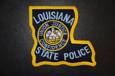 Louisiana State Police Patch (Current Issue) - States Display