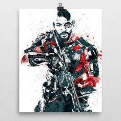 Suicide Squad Deadshot Poster