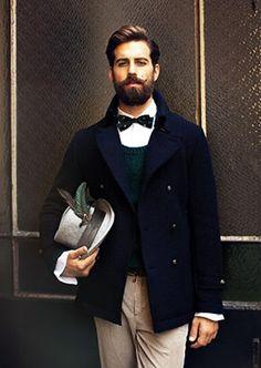 Handlebar Mustache & Beard.