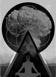 awaken - sacred geometry art