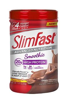 Slim Fast Advanced Nutrition High Protein Smoothie Powder Creamy Chocolate 1101 Ounce Pack of 2 * Be sure to check out this awesome product.