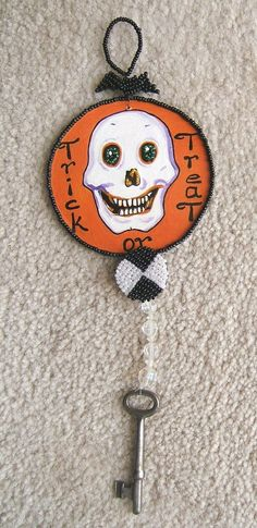 Check out HALLOWEEN SKULL and SKELETON KEY Handcrafted DECORATION with REAL SKELETON KEY  http://www.ebay.com/itm/HALLOWEEN-SKULL-and-SKELETON-KEY-Handcrafted-DECORATION-with-REAL-SKELETON-KEY-/160873683763?