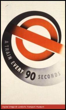Art Deco Underground Poster