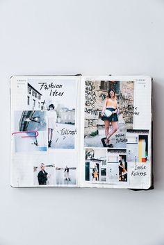 An alle Skizzenbuch Liebhaber: Erfahrt, warum ich ein totaler Sketchbook Fan bin, wodurch das ausgelöst wurde + weshalb ihr selber eines haben solltet! | Hermine on walk | Art Collages | Sketchbook | Fashion Design Sketchbook | Skizzenbuch | Graphic Design | Magazine Cover
