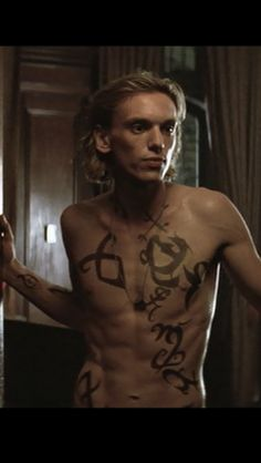 Jamie Campbell Bower as Jace Wayland in The Mortal Instruments City of Bones iphone 5 wallpaper
