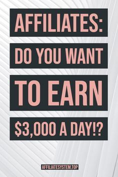 Are you looking for a new way of earning an additional income? You should consider affiliate marketing. Keep reading to learn more about affiliate marketing strategies. Ways To Earn Money, Earn Money From Home, Make Money Blogging, Way To Make Money, Money Fast, Earning Money, Online Earning, Earn Money Online, Online Jobs