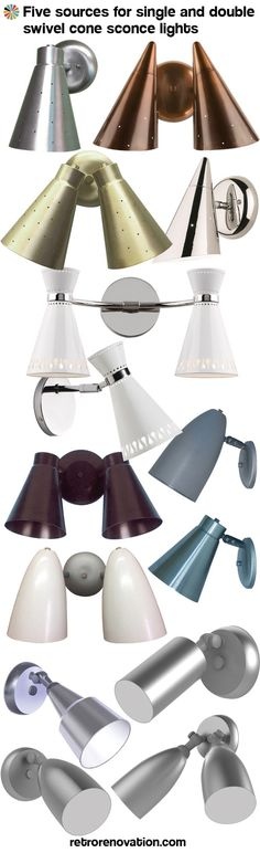 Where to buy cone lights, starting at $50 — five places to find these classic midcentury modern style sconces