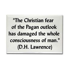 DH Lawrence Pagan Quote r