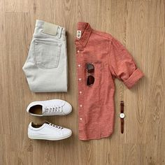 outfit grid Would you rock this outfit? Please rate this outfit below Jeans: Japanese Raw Denim Shoes: NMD Shirt: Mens Casual Dress Outfits, Formal Men Outfit, Stylish Summer Outfits, Denim Outfit, Casual Attire, Basic Outfits, Casual Shirt, Casual Summer, Shirt Outfit