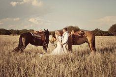 Wedding with horses :)