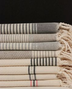 Striped Turkish Towels from ABC