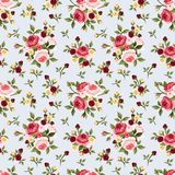 Vintage Floral Wallpaper Rose Repeat Pattern - Download From Over 44 Million High Quality Stock Photos, Images, Vectors. Sign up for FREE today. Image: 27901463