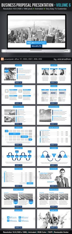 Business Proposal Presentation | Volume 6 - Business PowerPoint Templates