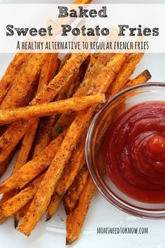 These baked sweet potato fries are delicious and bake up for How to make delicious sweet potatoes